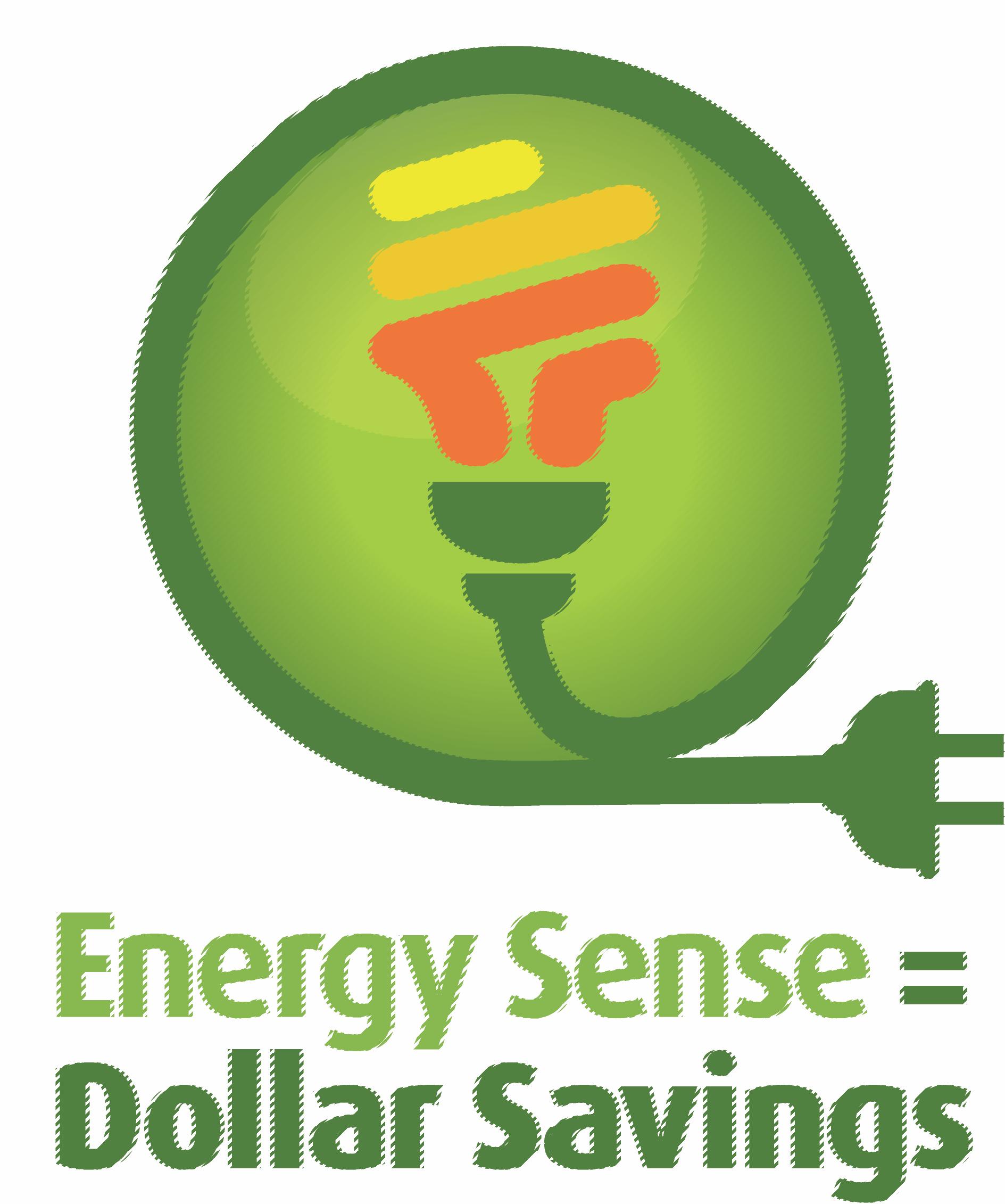 Energy Sense = Dollar Savings Logo